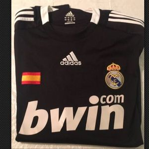 2008/2009 Adidas Real Madrid away jersey size L